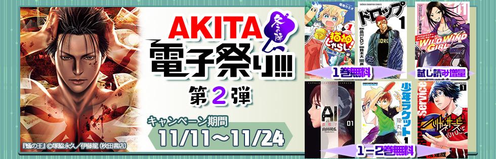 【無料&半額】AKITA電子祭り 冬の陣 第2弾