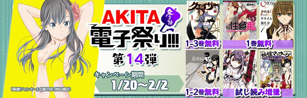【無料&半額】AKITA電子祭り 冬の陣 第14弾